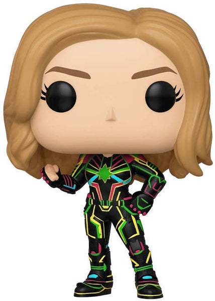 Funko Pop Captain Marvel: Captain Marvel (Neon Suit) #516
