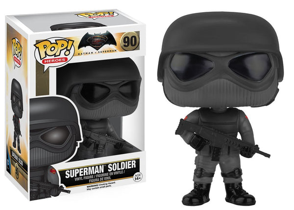 Funko Pop Batman Vs Superman - Superman Soldier #90