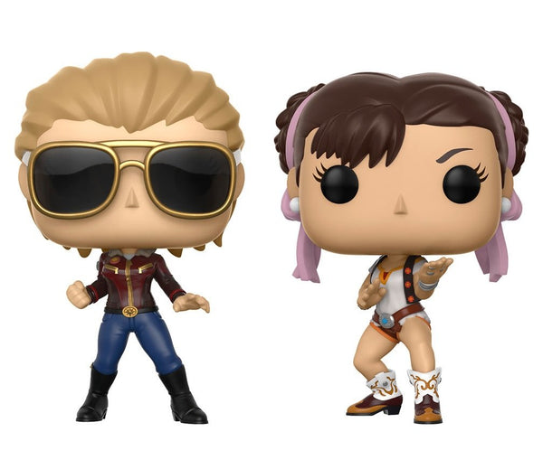 Funko Pop Marvel Vs. Capcom Infinite: Captain Marvel Vs Chun