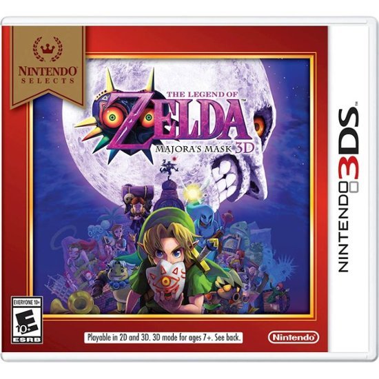 The Legend Of Zelda Majoras Mask .- Nintendo 3DS