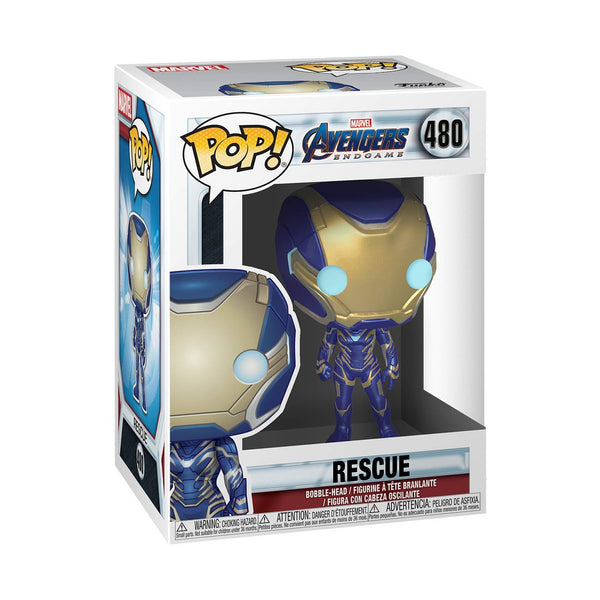 Funko Pop Marvel Endgame : Rescue (Pepper Potts) #480