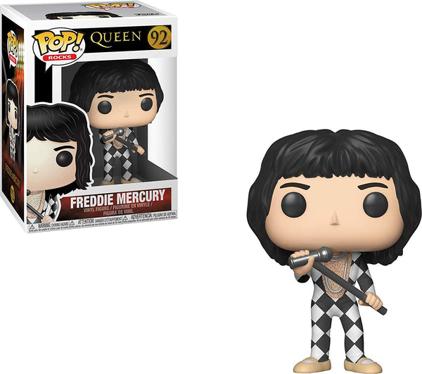 Funko Pop Rocks: Queen - Freddie Mercury #92
