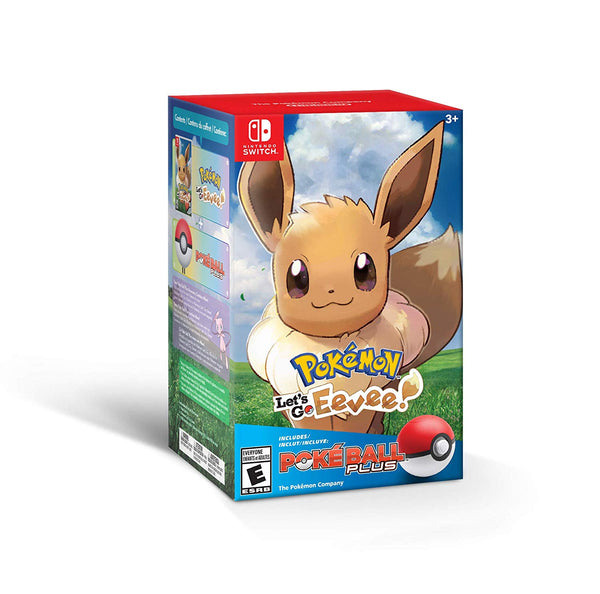 Pokémon: Let's Go, Eevee! - Nintendo Switch (+ Poké Ball Plus Pack) - Bundle Edition
