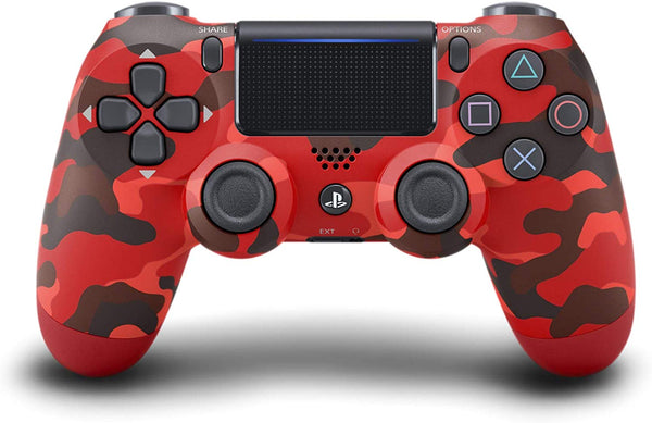 Control DualShock 4 Red Camouflage- PlayStation 4