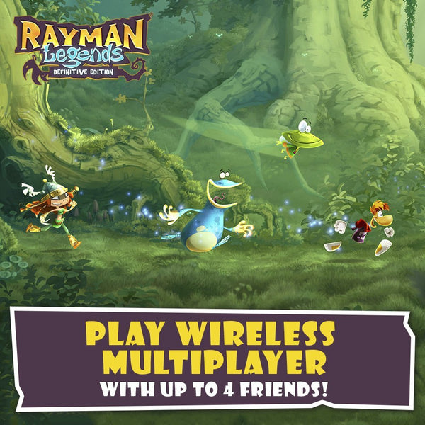 Rayman Legends - Switch  Nintendo - Definitive Edition