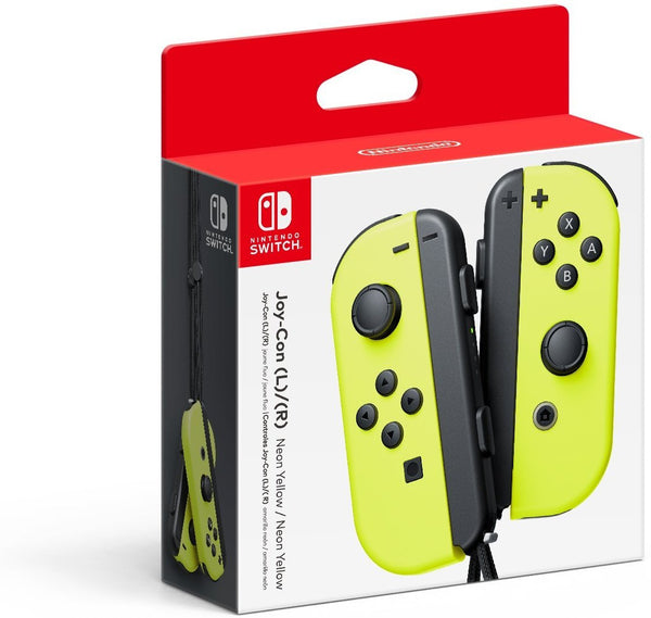Joy Con (L) / (R) Neon Amarillo Nintendo Switch