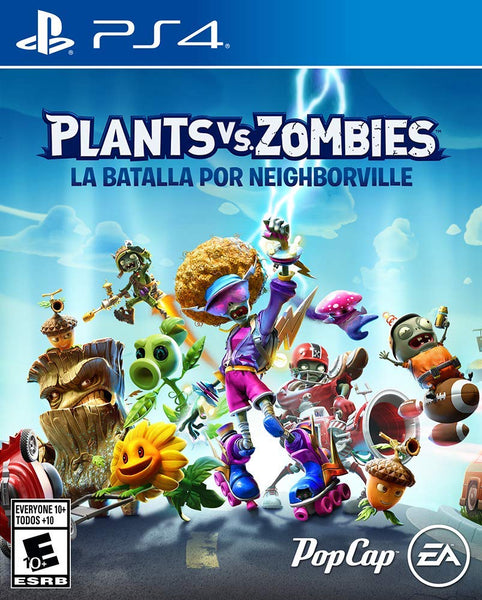 Plants vs Zombies: Battle for Neighborville  Play Station 4