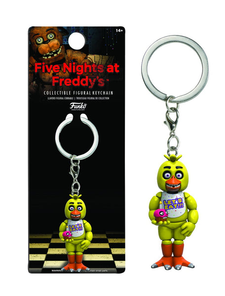 Llavero Key Chain: Five Nights At Freddy's - Chica