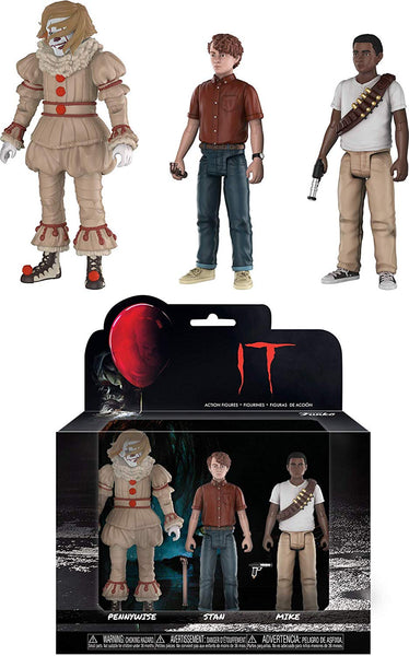 Funko Stephen King's It: Pennywise Stan Mike Action