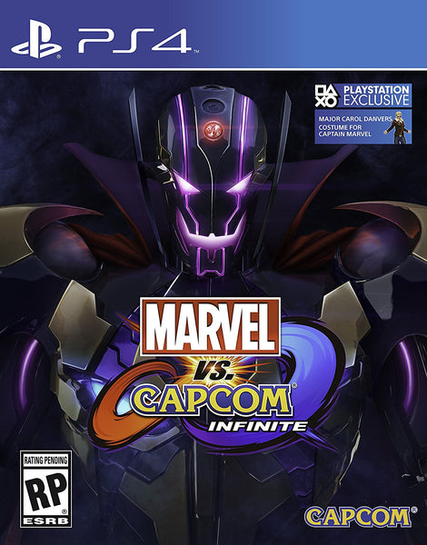 Marvel vs Capcom: Infinite Deluxe Edition -Play Station 4