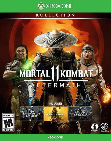 Mortal Kombat 11 Aftermath - Xbox One - Standard Edition