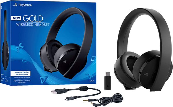 Gold Wireless Stereo Headset / Audifonos PS4