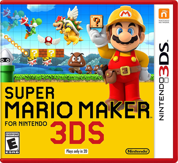 Super Mario Maker.- Nintendo 3DS