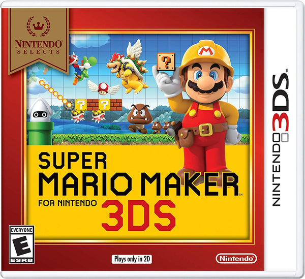 Super Mario Maker Select.- Nintendo 3DS