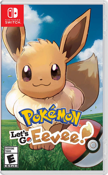 Pokémon: Let's Go, Eevee! - Nintendo Switch - Standard Edition