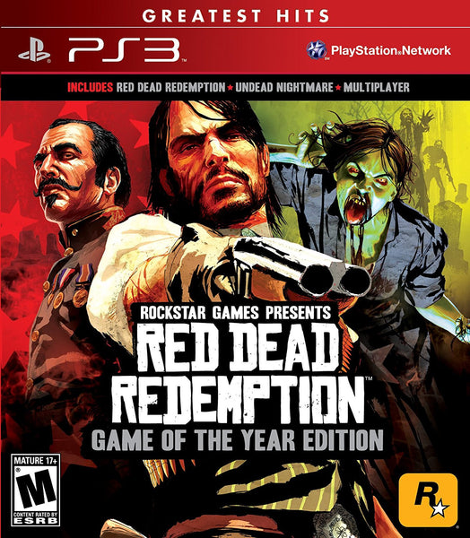 Red Dead Redemption Game of The Year Edition.- PlayStation 3