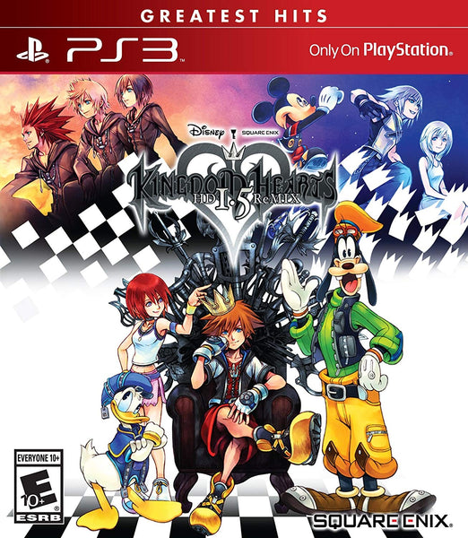 Kingdom Hearts HD 1.5 ReMIX .- PlayStation 3