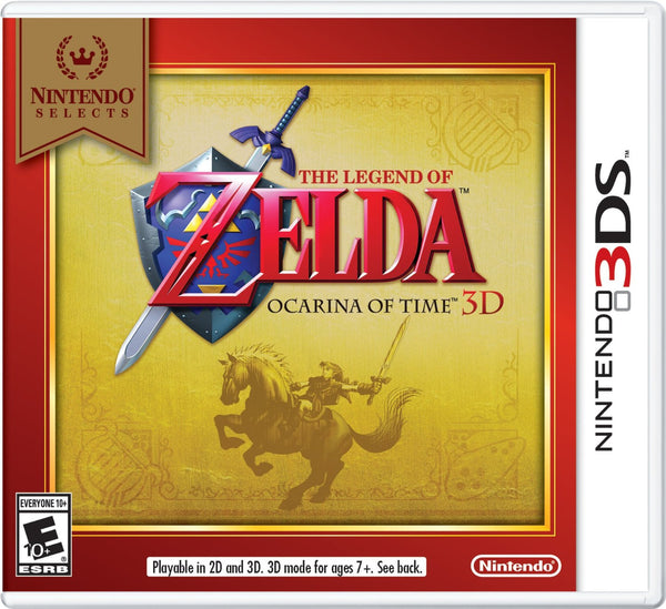 The Legend of Zelda Ocarina Of Time.- Nintendo 3DS