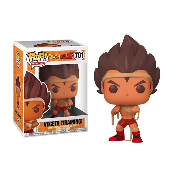 Funko Pop Dragon Ball Z Vegeta Training #701