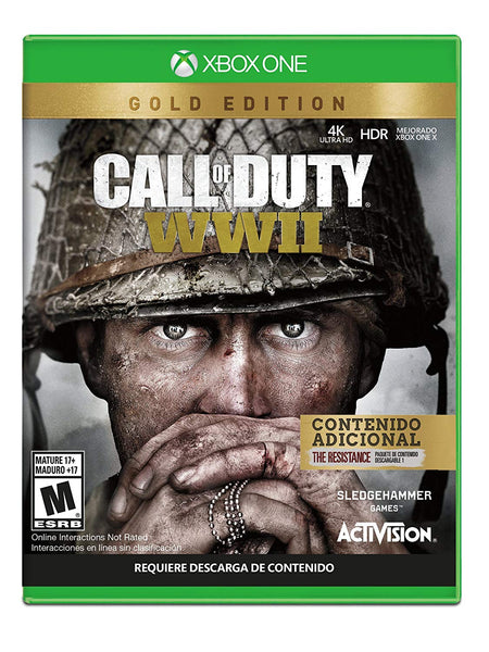 Call of Duty: World War II Gold Edition.- Xbox One