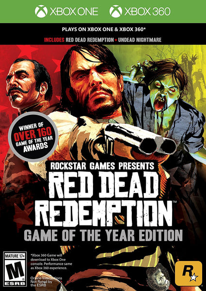 Red Dead Redemption Game Of The Year Edition.-360 / Xbox One