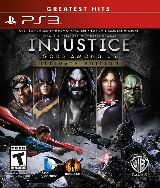 Injustice: Gods Among Us - Ultimate Edition .- PlayStation 3