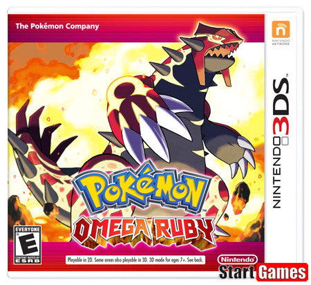 Pokemon Omega Ruby.- Nintendo 3DS
