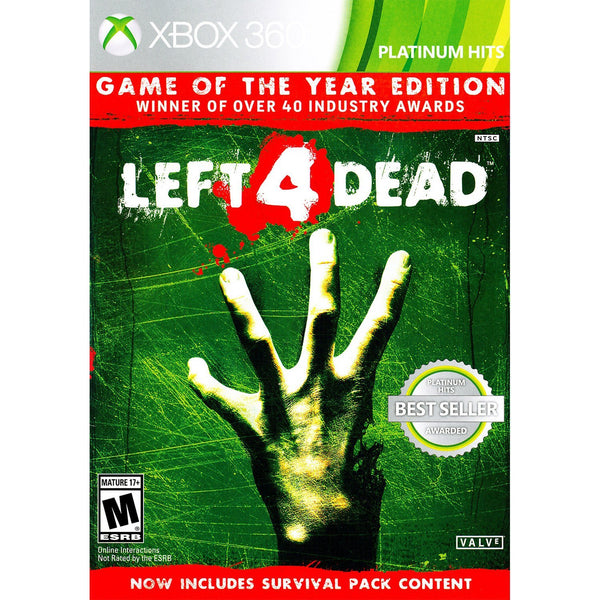 Left 4 Dead:  Game of the Year Edition.- Xbox 360