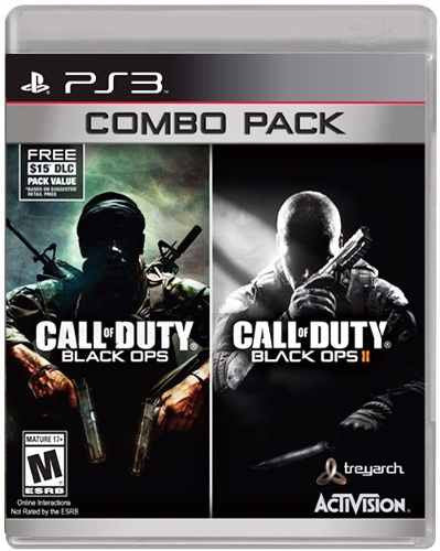 Call Of Duty Black Ops Combo Pack.- PlayStation 3