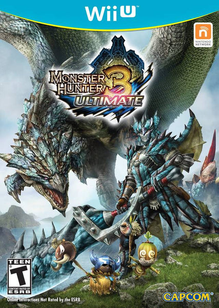 Monster Hunter 3 Ultimate.- WIIU