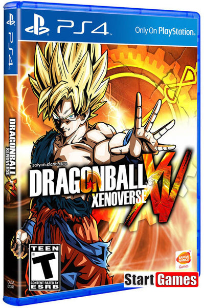 Dragon Ball Xenoverse XV .- PlayStation 4
