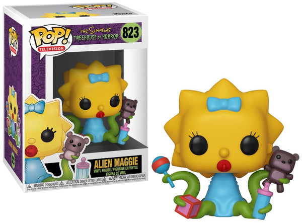 Funko Pop Simpsons - Alien Maggie #823