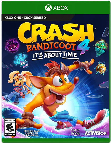 Crash 4: It's About Time - Standard Edition