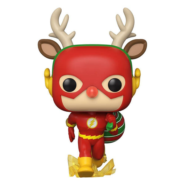 Funko Pop! Heroes: DC Holiday- Rudolph Flash #356