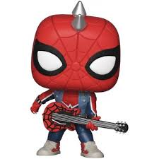 Funko Pop Man PS4: Spider-Punk #503