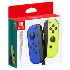 Joy-Con L/R Blue/ Neon Yellow Nintendo Switch