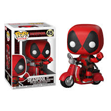 Funko Pop Deadpool: Deadpool & Scooter Pop! Rides #45
