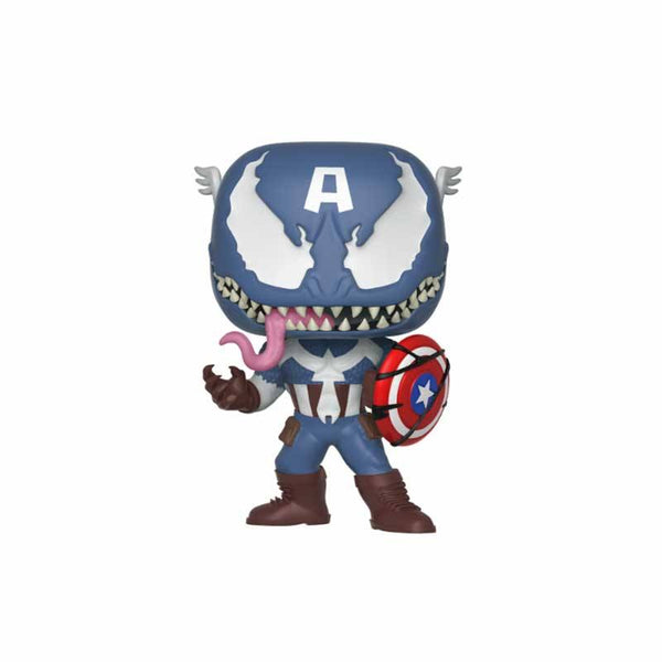 Funko Pop Marvel Venom Captain America #364