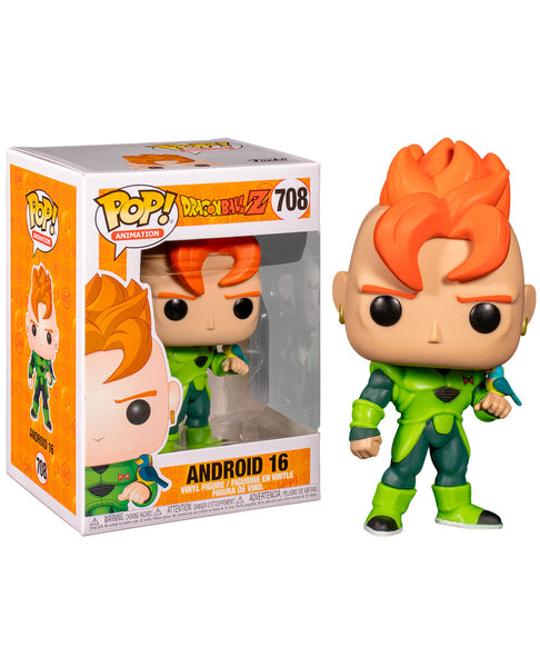 Funko Pop Dragon Ball Z: Android 16 #708