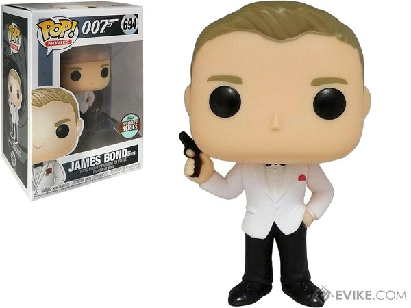 Funko Pop James Bond- Daniel Craig (Spectre) Specialty Standard  #694