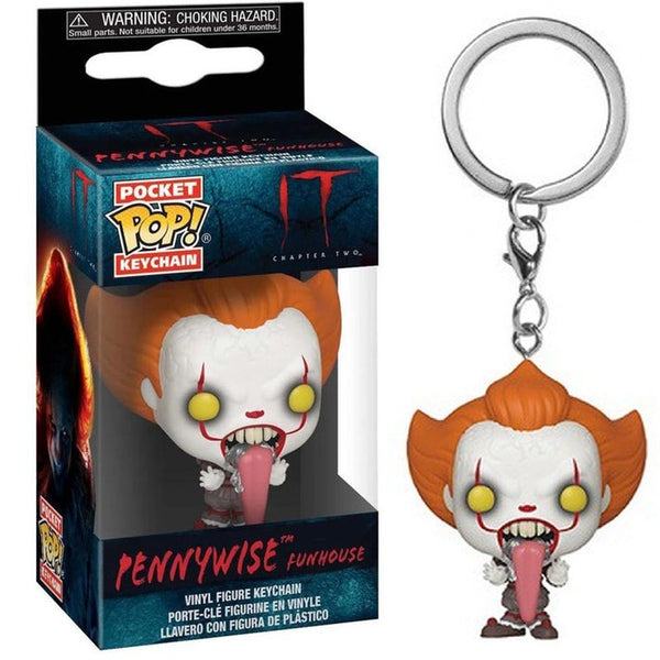 Funko Llavero Key Chain: Stephen King's It Chapter 2 - Pennywise Dog Tongu