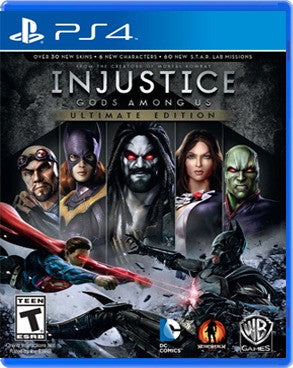 Injustice: Gods Among Us: Ultimate Edition.- PlayStation 4