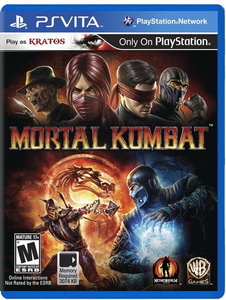 Mortal Kombat.- PlayStation Vita