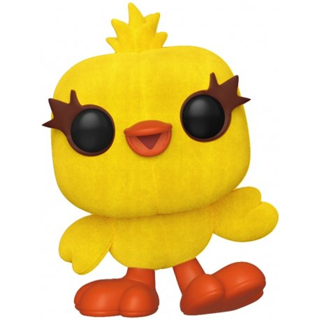 Funko Pop Disney: Toy Story 4 – Ducky TERCIOPELO  #531