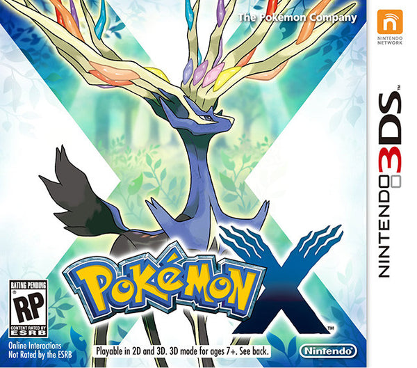 Pokemon X.-3DS