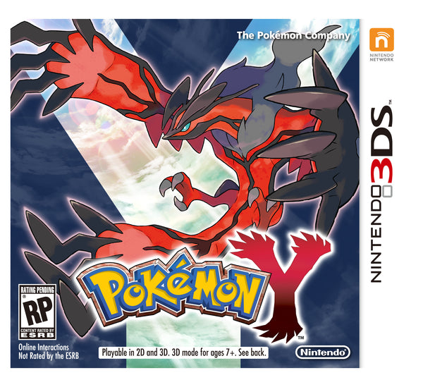 Pokemon Y.-3DS
