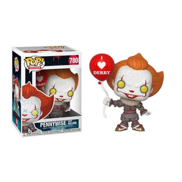 Funko Pop Stephen King's It Chapter 2: Pennywise w/ I Heart Derry #780