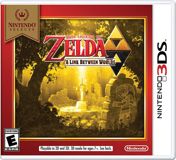 The Legend of Zelda: A Link Between Worlds.- 3DS