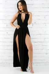 High Slits Maxi Dress