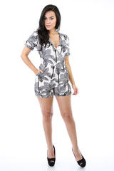 Pandora Palm Shade Romper